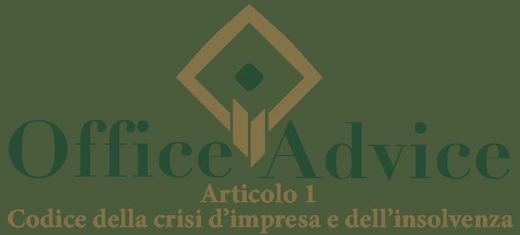 Art. 1 - Codice della crisi d'impresa e dell'insolvenza