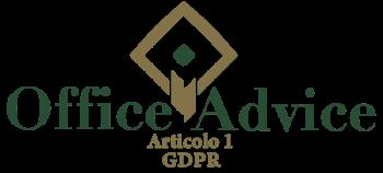 Articolo 1 - GDPR