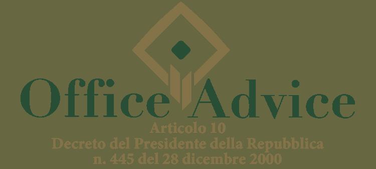 Articolo 10 - Decreto del Presidente della Repubblica 445 - 2000