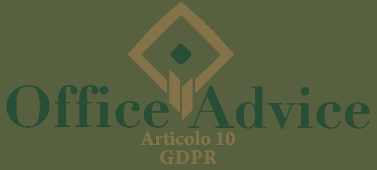 Articolo 10 - GDPR