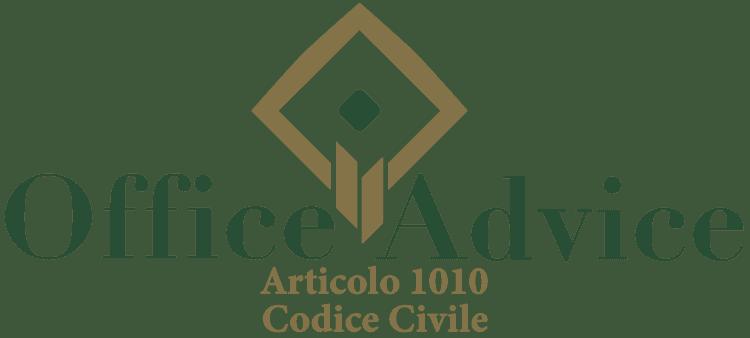 Articolo 1010 - Codice Civile