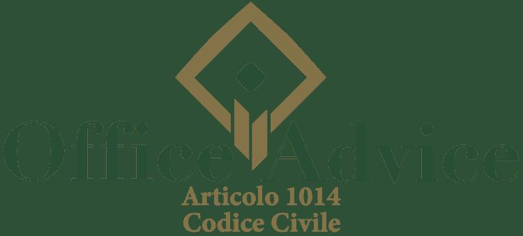 Articolo 1014 - Codice Civile