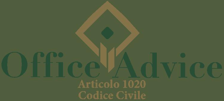 Articolo 1020 - Codice Civile