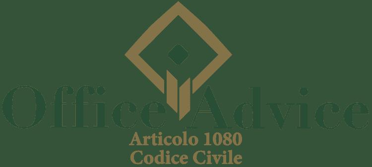 Articolo 1080 - Codice Civile
