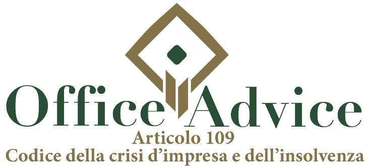 Art. 108 - Codice della crisi d'impresa e dell'insolvenza