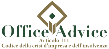 Art. 111 - codice della crisi d'impresa e dell'insolvenza