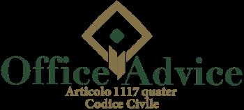 Articolo 1117 quater - Codice Civile