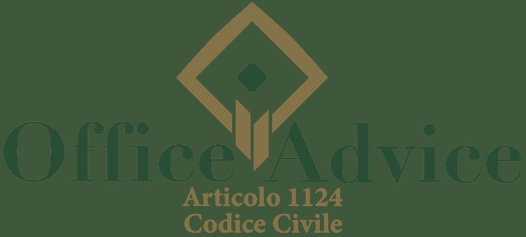Articolo 1124 - Codice Civile
