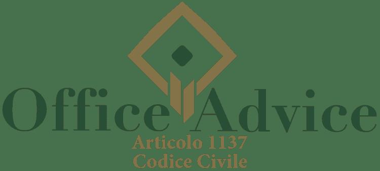 Articolo 1137 - Codice Civile