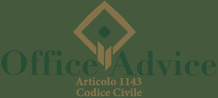Articolo 1143 - Codice Civile