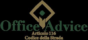 Articolo 116 - Codice della Strada