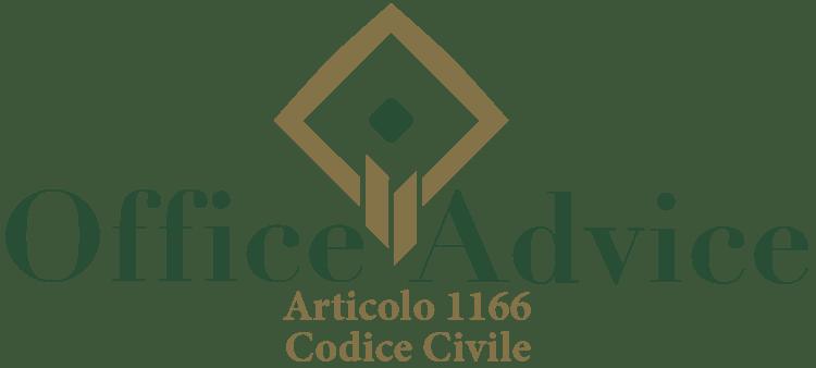 Articolo 1166 - Codice Civile