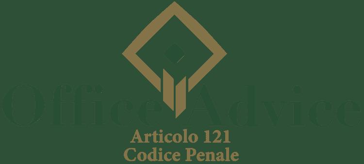 Articolo 121 - Codice Penale