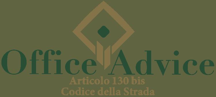 Articolo 130 bis - Codice della Strada