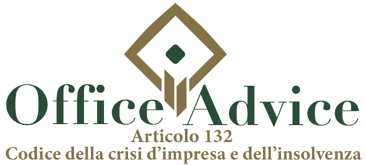 Art. 132 - Codice della crisi d'impresa e dell'insolvenza