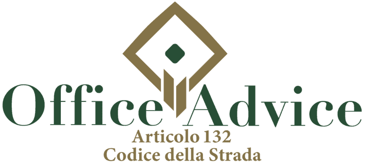 Articolo 132 - Codice della Strada