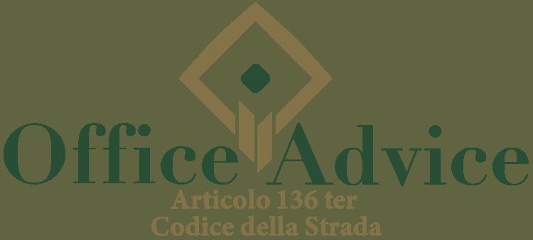 Articolo 136 ter - Codice della Strada