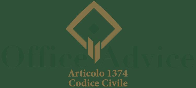 Articolo 1374 - Codice Civile