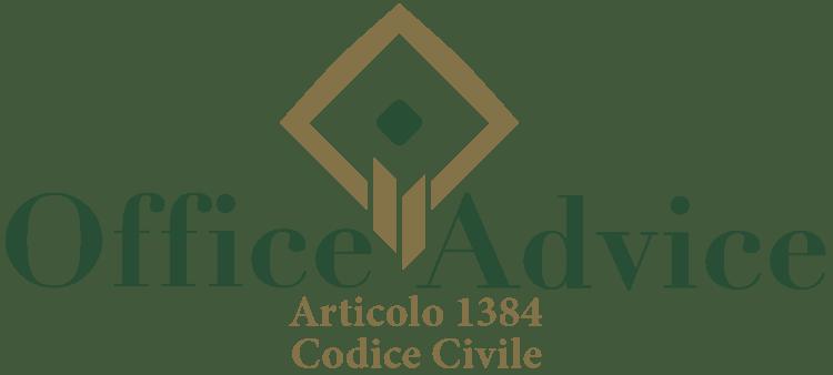 Articolo 1384 - Codice Civile