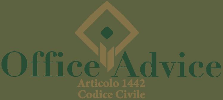 Articolo 1442 - Codice Civile