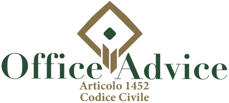 Articolo 1452 - Codice Civile