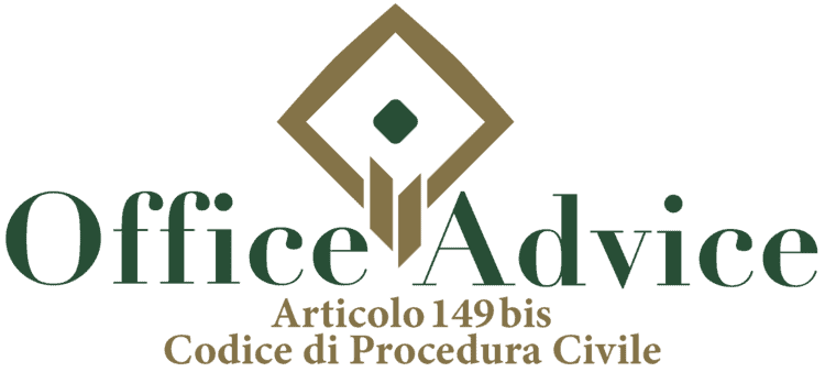 Articolo 149 bis - Codice di Procedura Civile