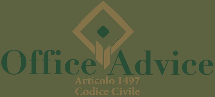 Articolo 1497 - Codice Civile