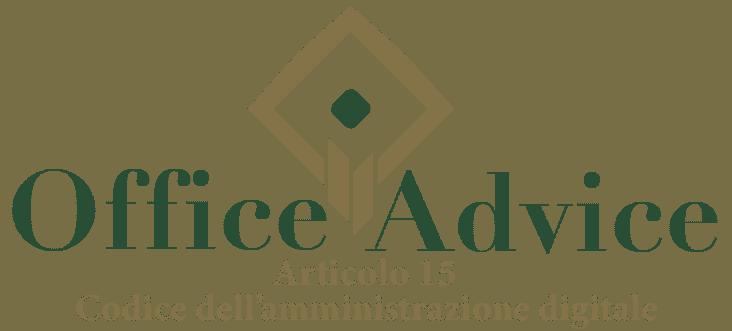 Art. 15 - Codice dell'amministrazione digitale