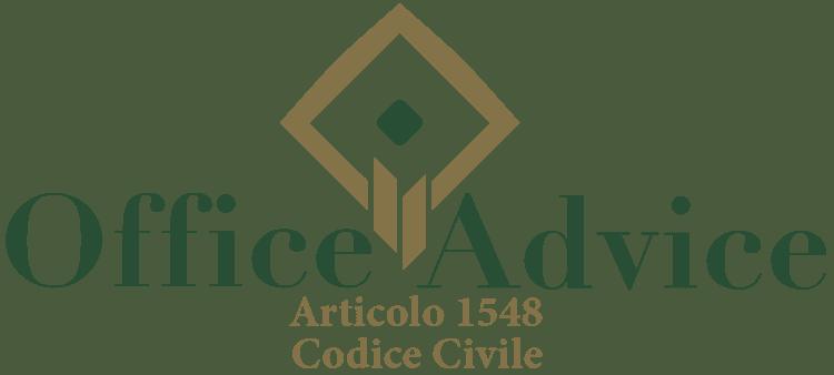 Articolo 1548 - Codice Civile