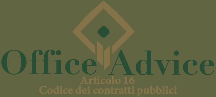 Articolo 16 - Codice dei Contratti Pubblici (Nuovo Codice degli Appalti)