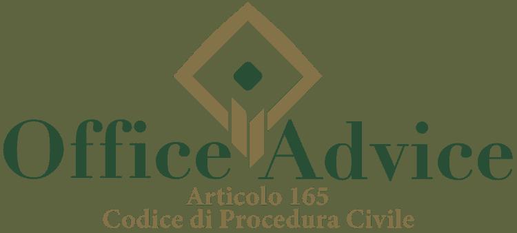 Articolo 165 - Codice di Procedura Civile