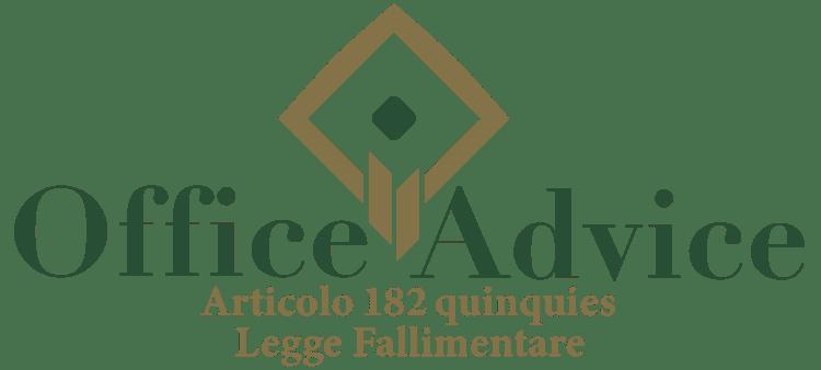 Articolo 182 quinquies - Legge fallimentare