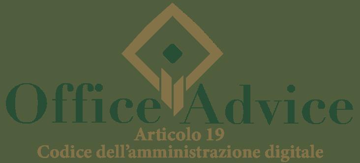 Art. 19 - Codice dell'amministrazione digitale