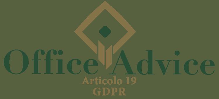 Articolo 19 - GDPR