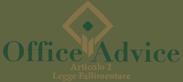 Articolo 2 - Legge fallimentare