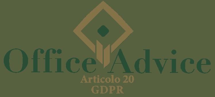 Articolo 20 - GDPR