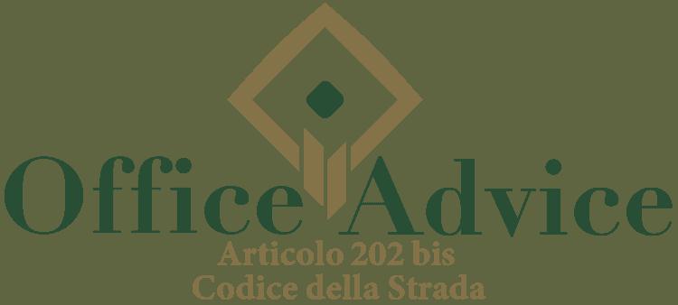Articolo 202 bis - Codice della Strada