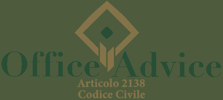 Articolo 2138 - Codice Civile