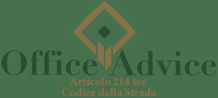 Articolo 214 ter - Codice della Strada