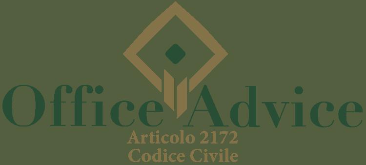 Articolo 2172 - Codice Civile