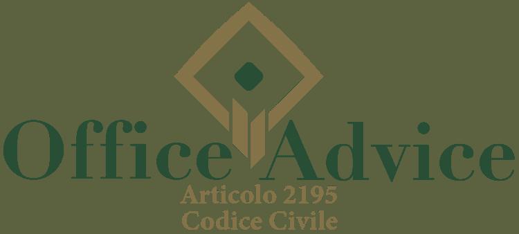 Articolo 2195 - Codice Civile