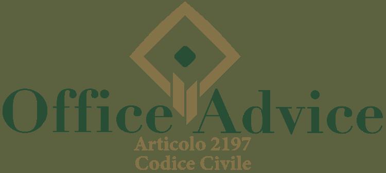 Articolo 2197 - Codice Civile
