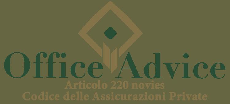 Articolo 220 novies - Codice delle assicurazioni private