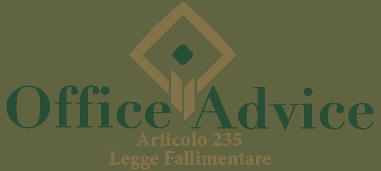 Articolo 235 - Legge fallimentare