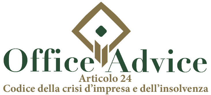 Art. 24 - Codice della crisi d'impresa e dell'insolvenza