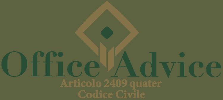 Articolo 2409 quater - Codice Civile