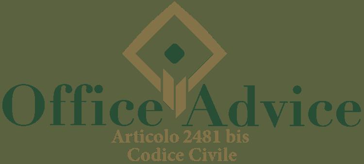 Articolo 2481 bis - Codice Civile