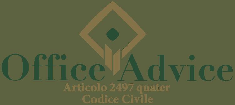 Articolo 2497 quater - Codice Civile