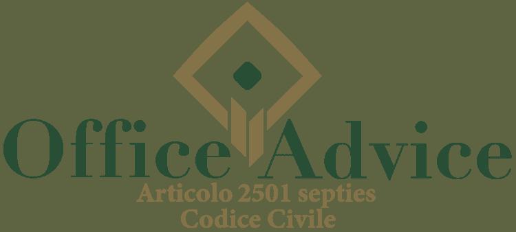 Articolo 2501 septies - Codice Civile