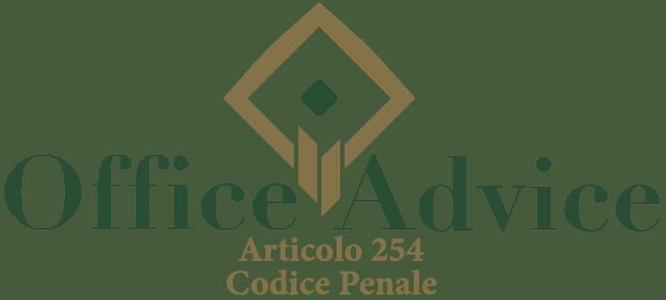 Articolo 254 - Codice Penale